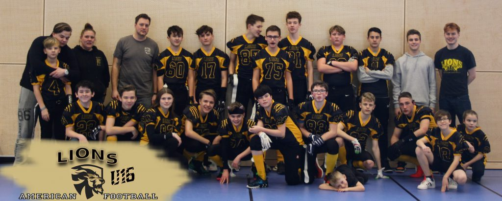 Lions U16 Team Pic
